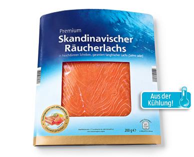 Skandinavischer Räucherlachs, November 2014