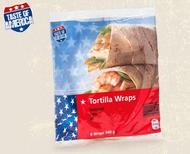 Tortilla Wraps, American Style, Juni 2014