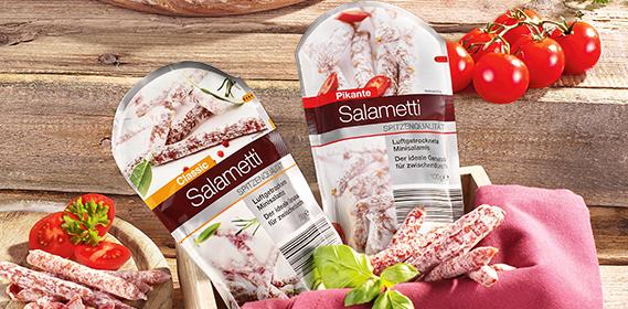 Salametti Edelsalami-Snack, Januar 2013