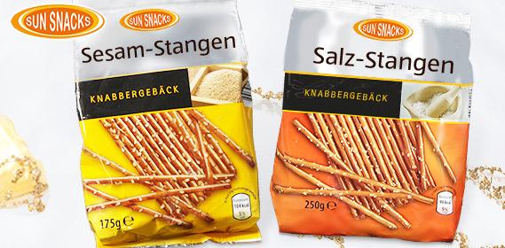 Salz- oder Sesam-Stangen, Dezember 2010