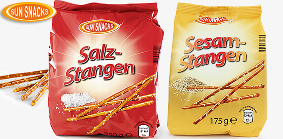 Salz- oder Sesam-Stangen, September 2012
