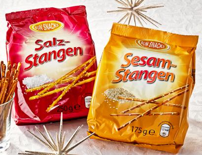 Salz- oder Sesam-Stangen, November 2013