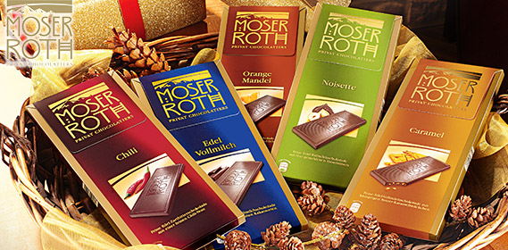 Feine Edel-Schokolade, 5x 25g, Dezember 2012