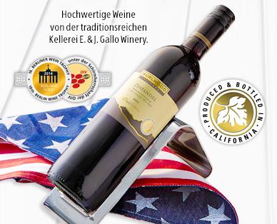 Kalifornischer Wein, August 2014