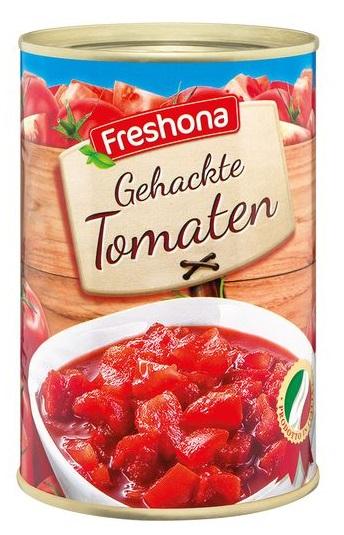 Gehackte Tomaten, Juni 2017
