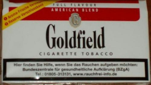 Goldfield Cigarette Tobacco, Juni 2017