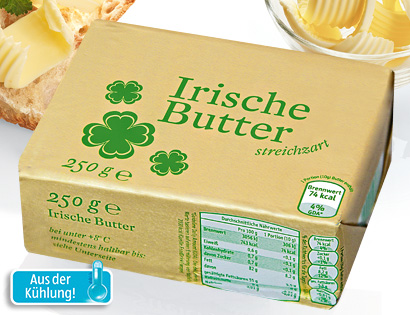 Irische Butter, Februar 2014