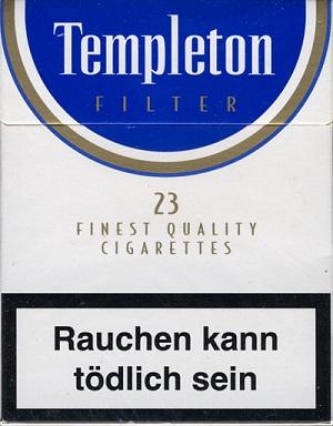 Templeton Quality Cigarettes, Juli 2017