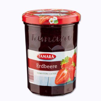 Erdbeer Konfitüre extra, September 2014