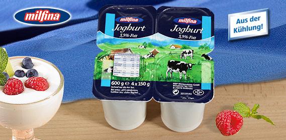 Joghurt, 4x 150 g, M�rz 2011