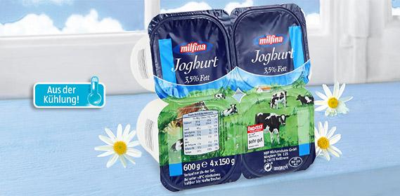 Joghurt, 4x 150 g, April 2012