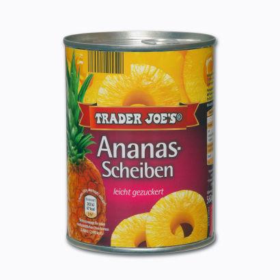 Ananas-Scheiben, September 2014