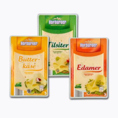 Hofburger Käse-Scheiben von Aldi Nord
