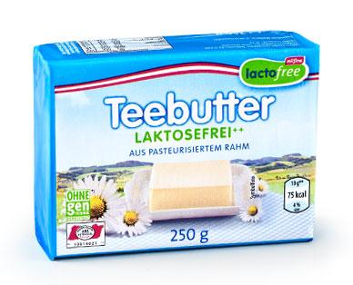 Teebutter laktosefreie , November 2014
