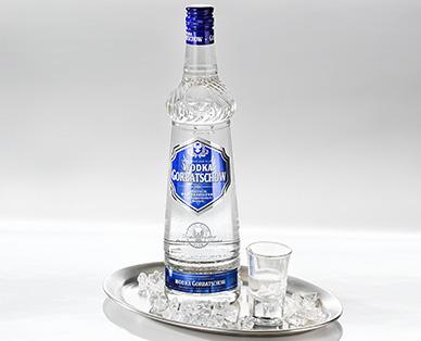 Wodka Gorbatschow, Februar 2015