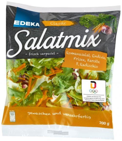 Salatmischung, Januar 2018