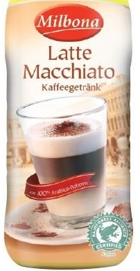 Kaffeegetränk Latte Macchiato, Juni 2017