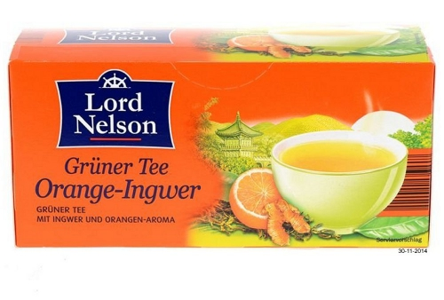 Grüner Tee Orange Ingwer, Dezember 2014