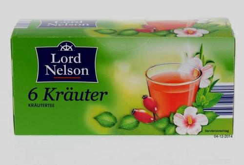 """Kräutertee """"6 Kräuter"""" , Dezember 2014"""