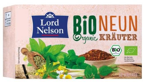 Bio Organic Neun Kräuter, Juni 2017