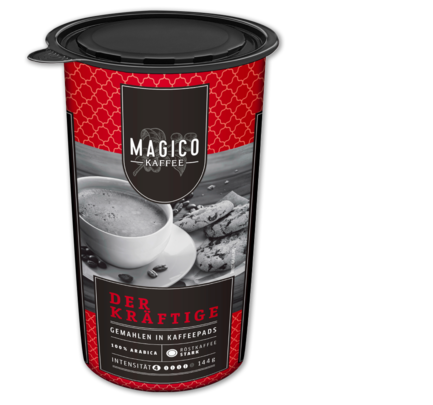 Kaffeepads 'Der Kräftige', Januar 2018