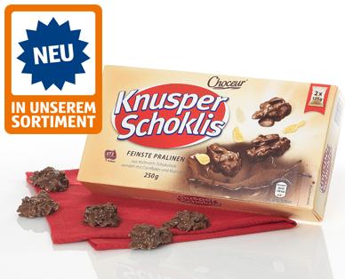 Knusper Schoklis, M�rz 2015