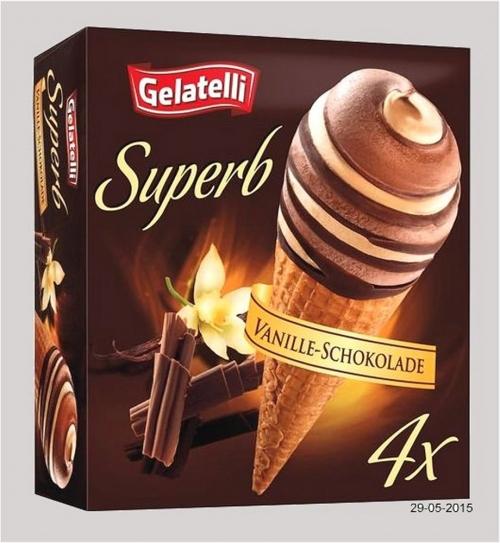 Superb, Vanille-Schokoladeneis , Mai 2015