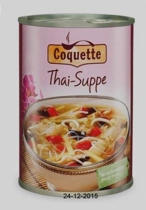 Thai-Suppe, Januar 2016