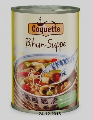 Bihun-Suppe, Januar 2016