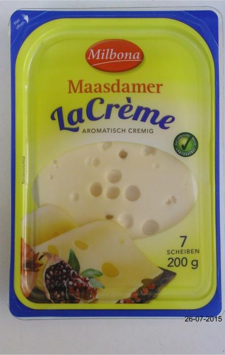 """Maasdammer """"LaCrème"""", Juli 2015"""