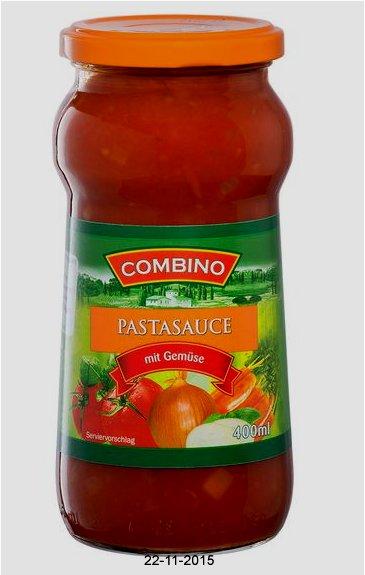 Pastasauce mit Gemüse, November 2015