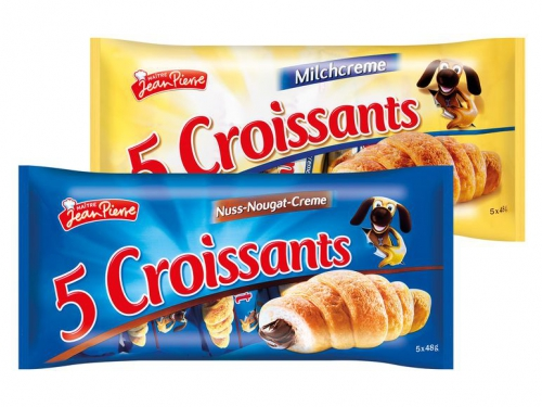 Croissants mit Füllung, M�rz 2016
