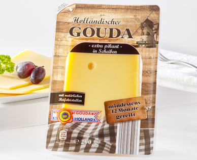 Gouda, extra Pikant, April 2015