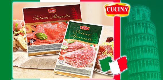 Original italienische Salami-Spezialitäten, Juli 2010