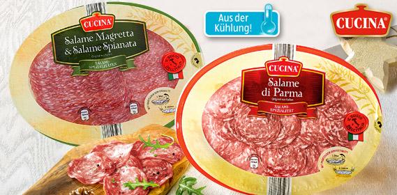 Original italienische Salami-Spezialitäten, Dezember 2012