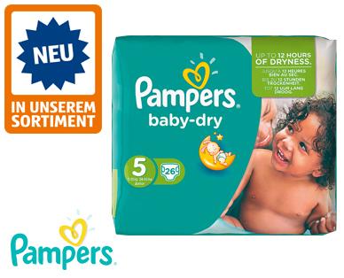 Pampers baby dry, Größe 5 junior, April 2016