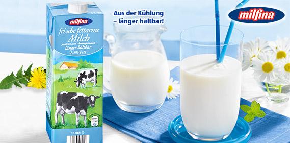 Frische fettarme Milch, ESL, 1,5% Fet, Juni 2011