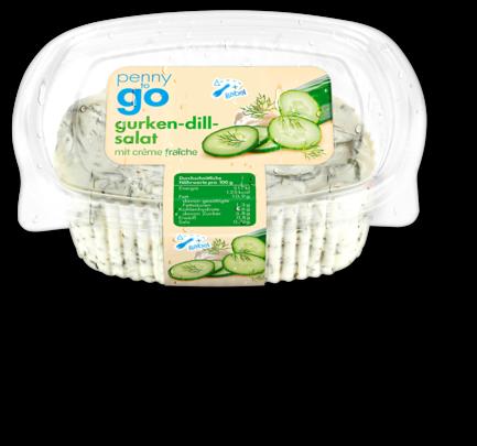 Gurken-Dill-Salat, Januar 2018