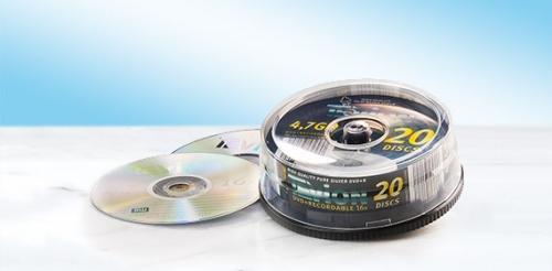 DVD+R Rohlinge 4,7 GB, Januar 2008