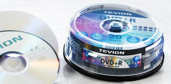 DVD+R Rohlinge 4,7 GB, Juli 2012