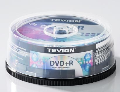 tevion dvd r rohlinge 4 7 gb von aldi s d