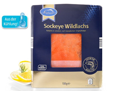 Sockeye Wildlachs, September 2014