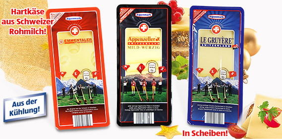 Schweizer Käse, in Scheiben, Dezember 2010