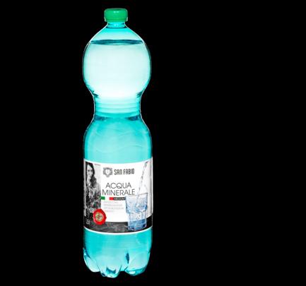 Mineralwasser medium, Juni 2016
