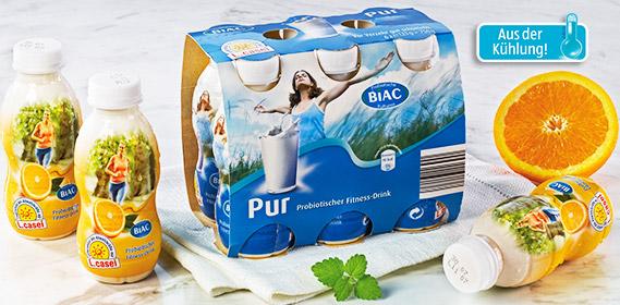 Probiotischer Fitness-Drink, 6x 125 g, Juli 2012
