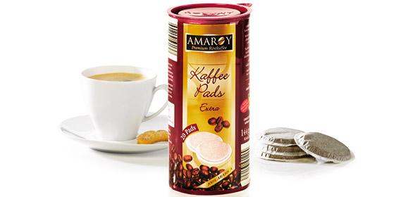 Röstkaffee Kaffee-Pads, Januar 2013