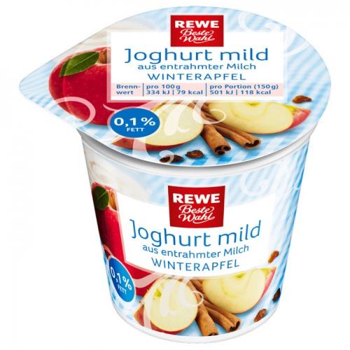 Joghurt mild Winterapfel, Dezember 2017