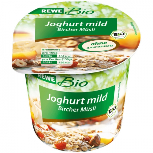 Joghurt mild Bircher Müsli, Dezember 2017