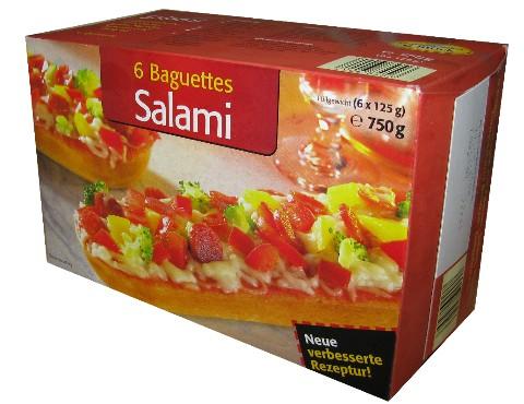 Baguettes Salami, August 2008