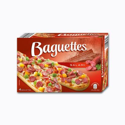 Baguettes Salami, September 2014